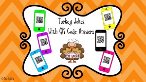 Turkey Jokes with QR Code Answers Cover