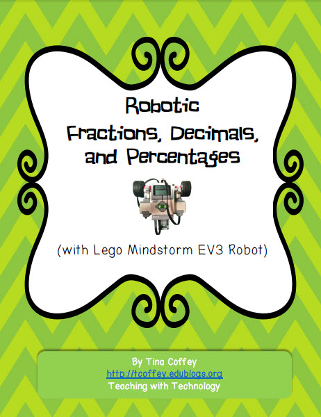 Robotic Fraction, Decimals, and Percentages   Teaching with